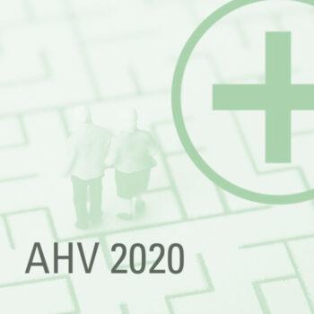 AHV Anpassungen per 1.1.2020